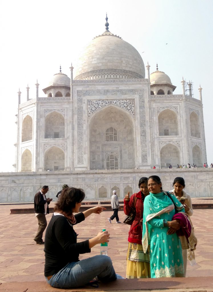 Taj Mahal, Selfies