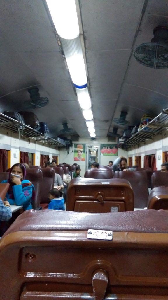 Fahrt nach Agra von Jaipur, Chairs, AC