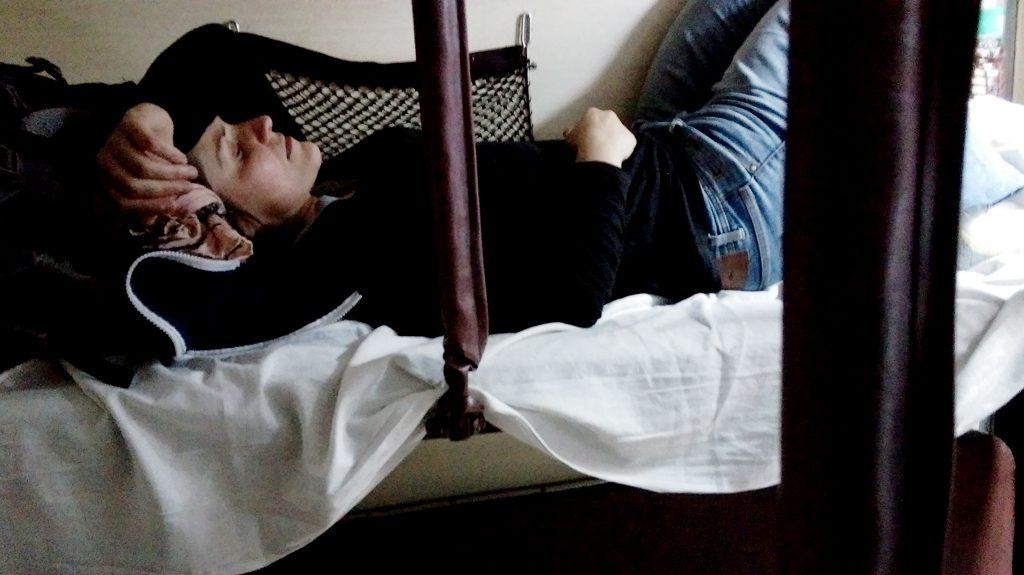 Bett im Zug